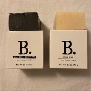 Beekman Milk Facial bars 2- 3.5 oz
